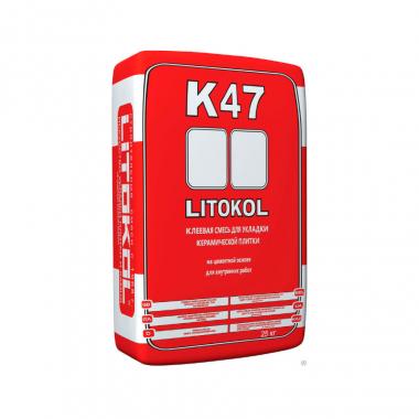 Litokol LITOKOL К-47 клеевая смесь 25кг