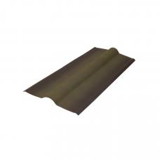 Ондулин Конек черепица зеленый 1000х420 мм