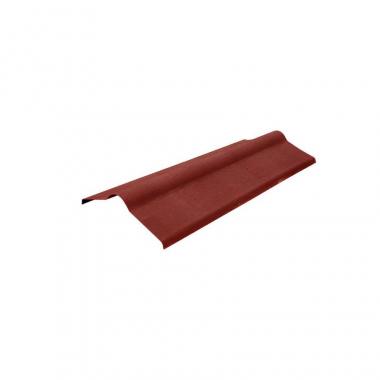 Ондулин Конек элемент красный 1000х420 мм