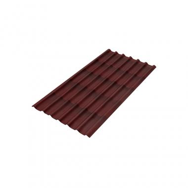 Ондулин Черепица коричневая 1950х960 мм