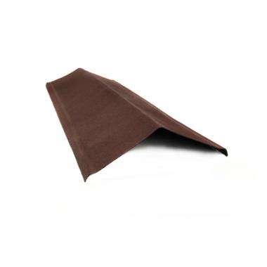 Ондулин Щипец коричневый 1000х210 мм