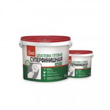 Старатели Шпаклевка Суперфинишная полимерная готовая 15 кг