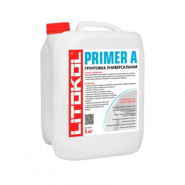 Litokol Primer A грунтовка универсальная белая 10 кг