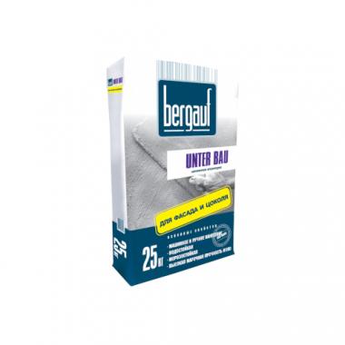 Bergauf Unter Bau цементная штукатурка для фасада и цоколя 25 кг