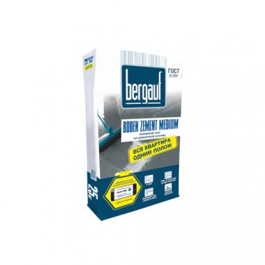 Bergauf Boden Zement Medium  наливной цем.пол быстротвердеющий 25 кг