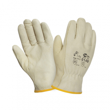 Перчатки  кожаные, утепленные 10,5