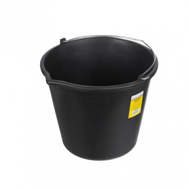 Ведро строительное круглое пластиковое 12 л